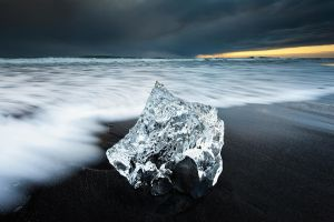 Ring and Black sand by Michaelthien