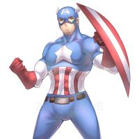 CAPTAIN AMERICA! by zipskyblue