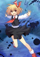 rumia by crossryou