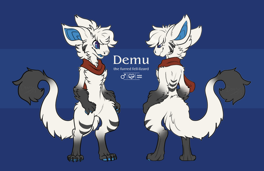 Demu Reference 2018 by InkyDemu