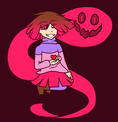 [Glitchtale] Betty by ColorfullArt2002
