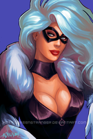 Black Cat by GreenStranger
