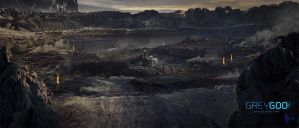 Grey Goo Expansion Crater by JJasso
