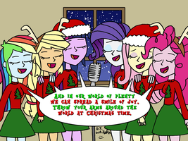 Equestria Girls singing Christmas Time by DJgames