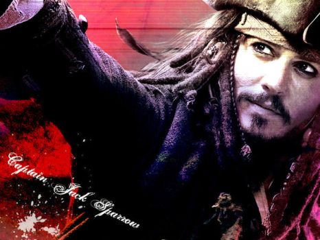 Captain Jack Wallpaper by leah-weah