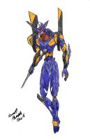 Evangelion Unit-06 by Dino-master
