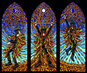 Wytchwood Morris - Stained Glass design by yggdryad