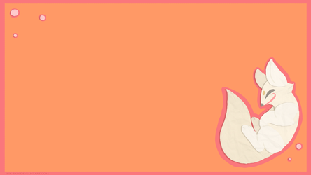 Paper Fox Background by Ink--It