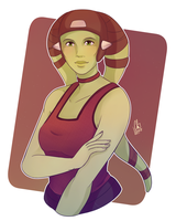 Hera Syndulla by Chyche