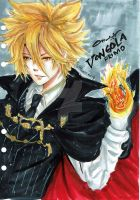 Vongola Primo ( The first flame of Vongola)