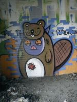 Get your beaver out by SUREGRAFFITI
