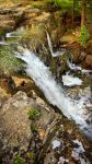 Waterfall in May by Pajunen