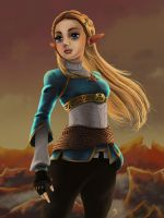 Princess Zelda by MASbartlett