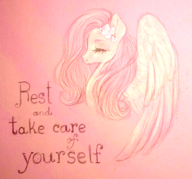 Daily Flutter Self Care #1 by Microwaved-Box