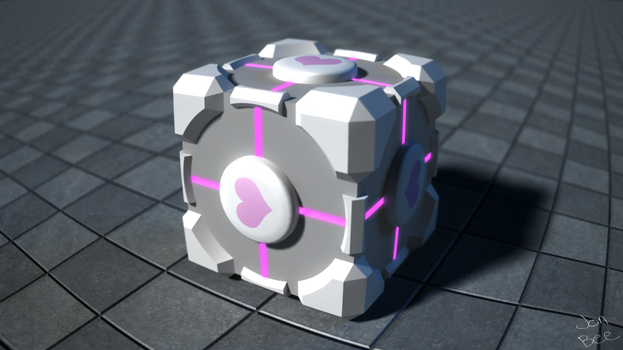 Just a cube for loving by PerpetualStudios