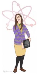 WOS - Amy Farrah Fowler by DrZime