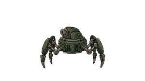 Spider tank by Toomanypenguins