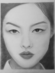 First Portrait - Fei Fei Sun by hunnyflash