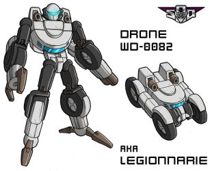 Art for the Legionaire Drone by Tf-SeedsOfDeception