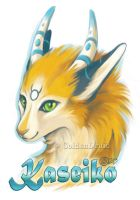 Kaseiko Badge by GoldenDruid