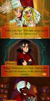 Magical Four WIP-Halloween Game by Birdhousebirdy