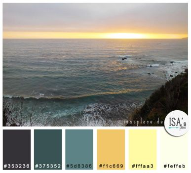 Color Palette #25 - This is Hope by IsaaaHa