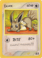 Eevee card by griffsnuff