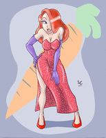 30 Girls 10 - Jessica Rabbit by Dasutobani