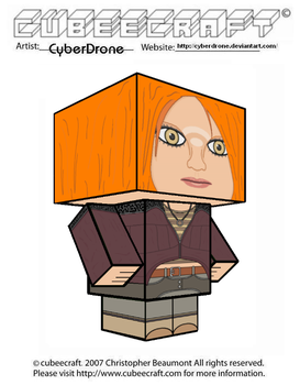 Cubeecraft - Irisa Nyira 'Defiance' by CyberDrone