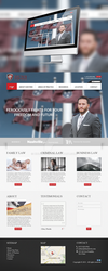 Law firm Homepage layout[For Sale] by NickchouBG