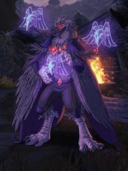 [comm] Raven Lord by xuza