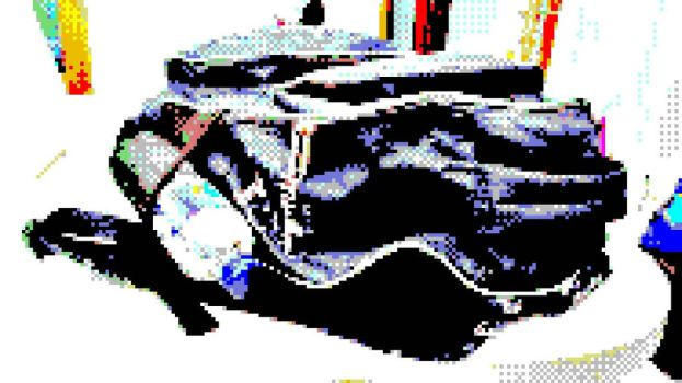 My Bag on the Table (8bit version) by Voidsaint
