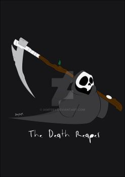 The Death Reaper by iamfeby