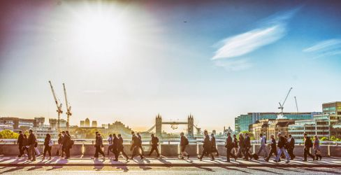 London Bridge Commuters by deepgrounduk