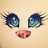 Oh what big eyes you have  by MoonlightMalaise