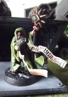 Imperial Guard Astropath (Wizard) Conversion by JordanGreywolf