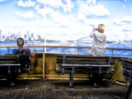 The Manly Ferry by wounded-bull
