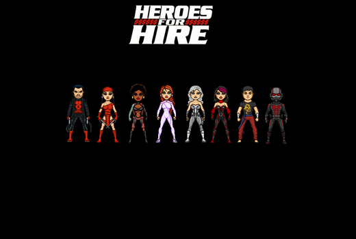 Heroes for Hire by Jalil1m