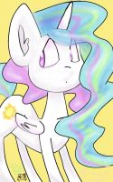 Princess Celestia! :3 by TheKatWoman