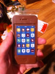 Chocolate iPhone 4 by MarcusMcCloud100