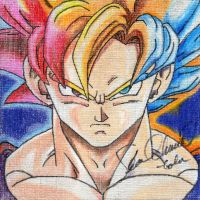 Goku: Signed! by redghostman