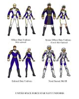 USF Star Navy Uniforms by InputJack
