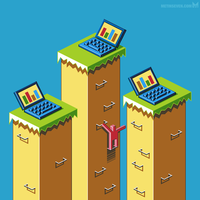 Isometric pixel art by m7