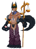 Monster Boy Encyclopedia #8: Anubis by SourShockX