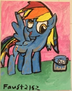 FanArt of Drawponies Derpy Dash by faust2152