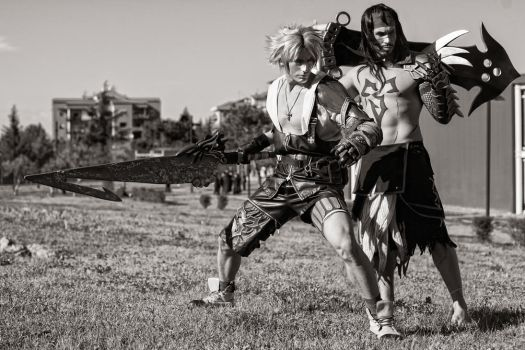Tidus and Jecht Cosplay - This is Our Story - FFX by LeonChiroCosplayArt