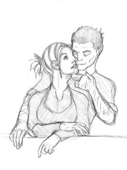 Bex and Galius - True Love by SamwiseTheAwesome