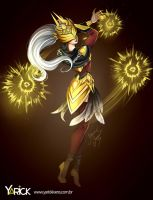 Justicar Syndra - League Of Legends by YarickArt