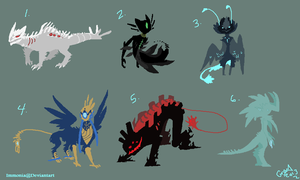 Mixed Monster Adopts [CLOSED] by Adopt-Monstar