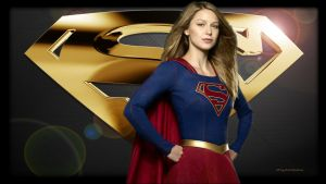 Supergirl - Gold Status by Curtdawg53
